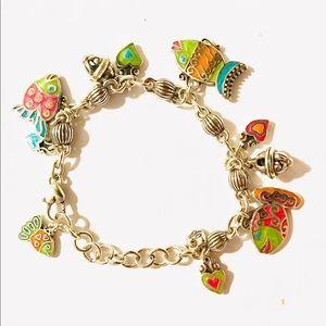 Brighton Lil Sea Tropical Fantasy Charm Bracelet
